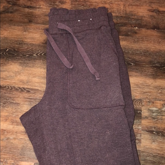 Express Pants - Faded Purple Joggers